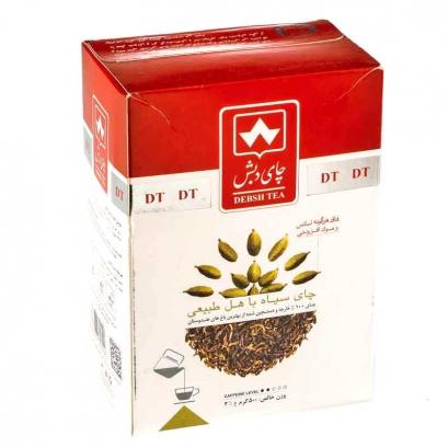 چای سیاه با هل طبیعی